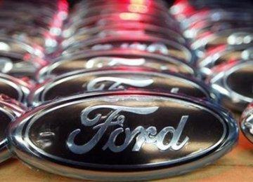 Ford Q3 Profit Down 34%