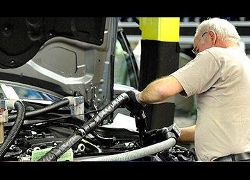 German Economy Taking Off