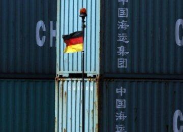 German Exports Drop