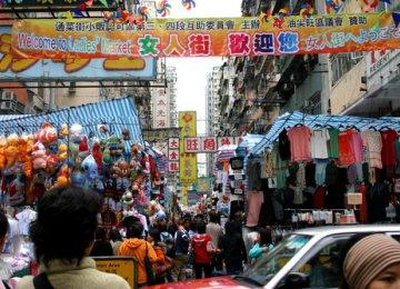 HK Retail  Sales Fall