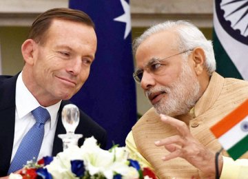 India, Australia Push  for Free Trade Pact