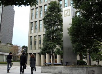 Japan School Sues Deutsche Bank