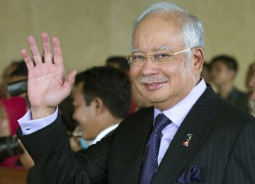 Malaysia PM Says: Economy on Track