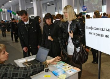 Russia Jobless Reach 1m