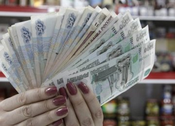 Huge Cost of Stemming the Ruble's Slide