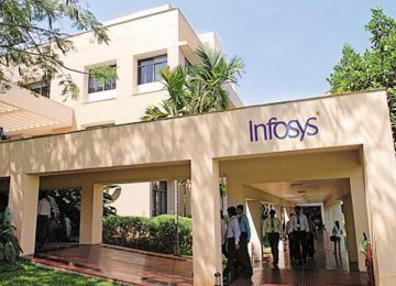 Infosys Profit  Up 13%