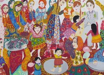 11 Iranian Teens Win Prizes in Slovenia Art Contest