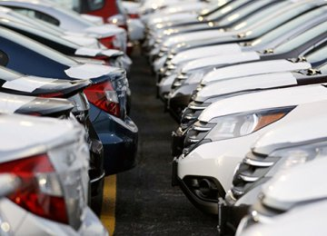 Car Imports Down 55%