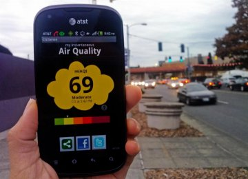 Pollution Monitoring Via Smartphones