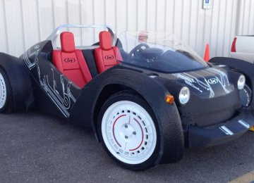 3D Printed Car Could Transform Auto Industry