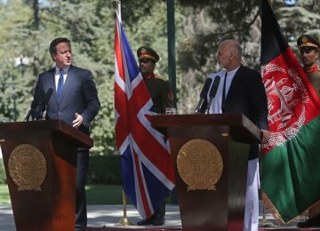 UK to Host Afghan Aid Confab in Nov.