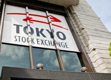 Asian Shares Follow  Wall Street High