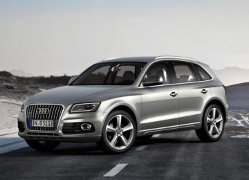 New Audi Arrives in Iran