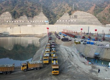 Beijing Building World's Largest Dam