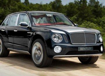 Queen to Get 1st Bentley Bentayga