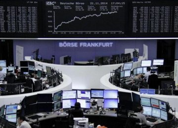 European Shares Rise, Asian Mixed
