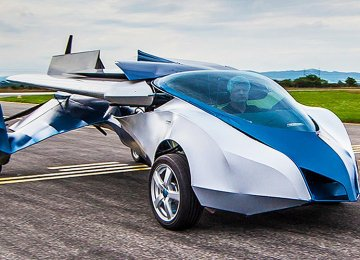 Flying Car to Be Launched in 2017