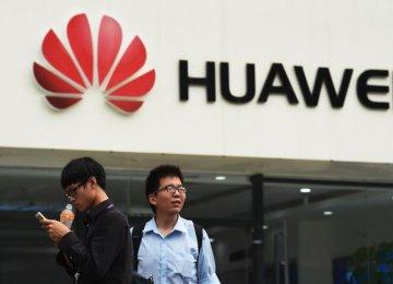 35% Rise in Huawei Revenues