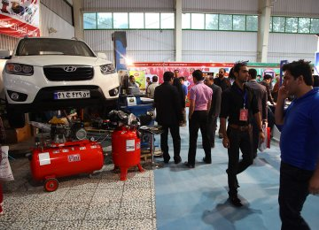 110 Companies at Isfahan  Auto Part Expo