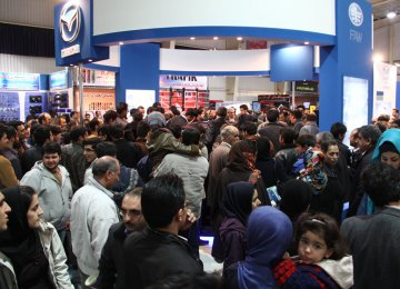 12th Int'l Auto Exhibit in Isfahan