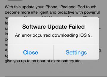 MTN-Irancell Warns of iOS 9 Bugs