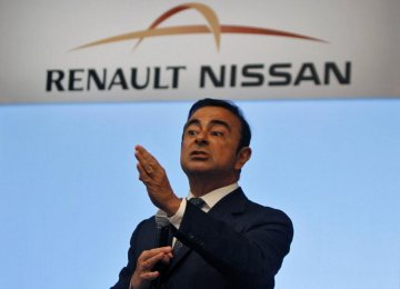 Ghosn Wants Separate CEOs