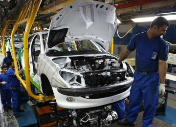 Car Manufacturing Up 16.2%
