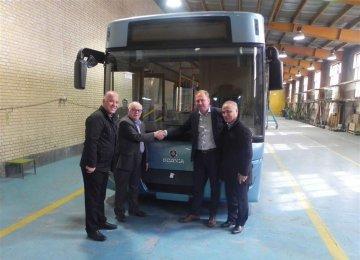 Environmentally-Friendly Bus Unveiled