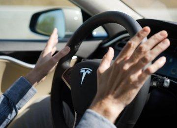 Tesla Parks Itself, Finds You
