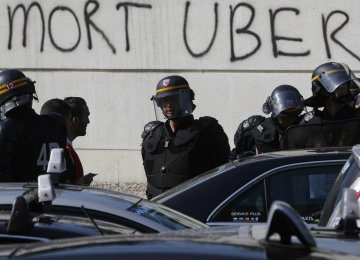Uber on Trial in France