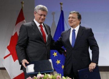 Canada, EU Sign CETA Pact Despite GermanConcerns