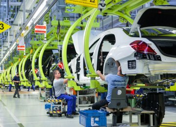 German Growth Declines