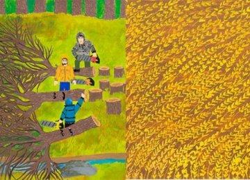 2 Iranian Teenagers Win Japan Drawing Prizes