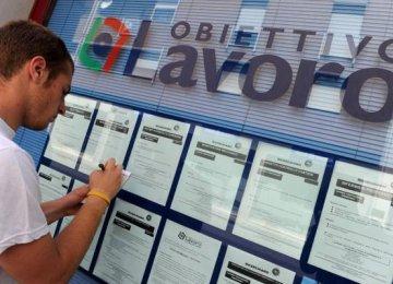 44% Italian Youth Jobless