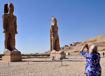 Colossal Statue of Amenhotep III Restored
