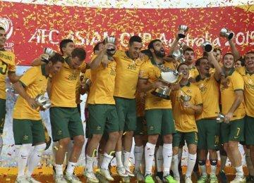 Australia Wins 2015 AFC Asian Cup