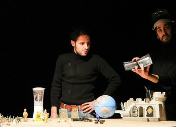 Iran-Italy Joint Play in Fajr Theater Festival