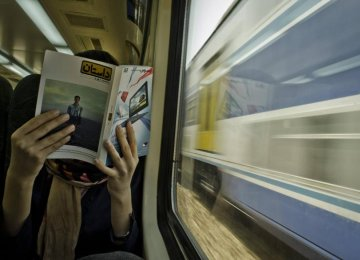 Book Reading in Subways