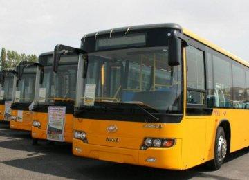 Bus Fleet Ready for Peak Season