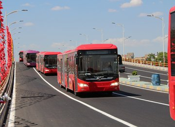 New Bus, Metro Trains for Tehran