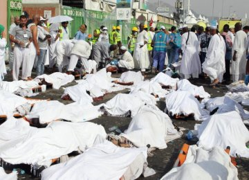 Bodies of 13 Hajj Victims Head Home