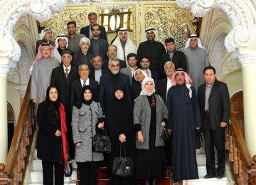 Kuwait-Iran Friendship Group Meet in Tehran