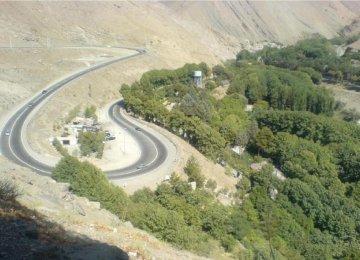 Karaj-Chalus Road Closed