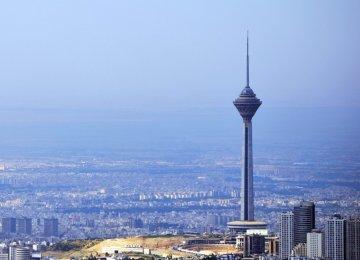 Telecom Antennas on Milad Tower