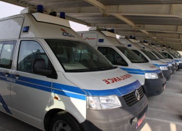 Ambulances Imported From Germany