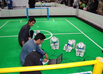 14 Nations at Tehran RoboCup Competitions