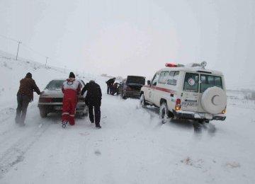 Snow, Blizzard in 8 Provinces