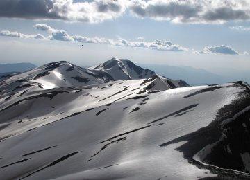 Summer Snow in Talqan