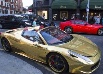 London Council to Crackdown on Arab Supercars