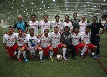 Tehran to Host Artists' Futsal World Cup